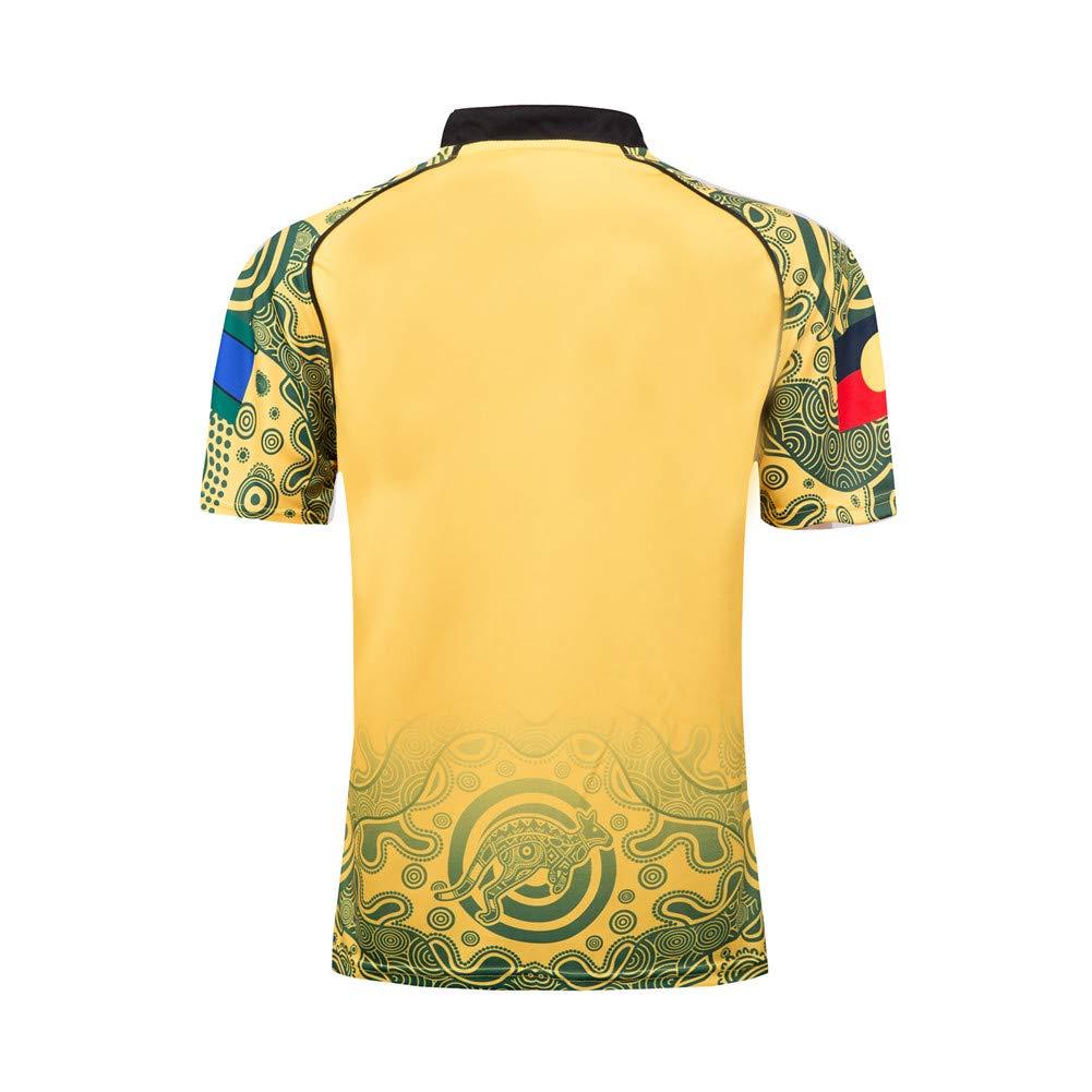 Camisetas de rugby para hombre,17-18 Australia Copa del Mundo de ...
