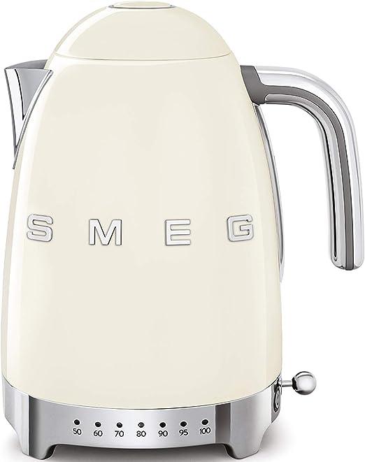 SMEG Calentador de Agua electrico, hervidor KLF04CREU, 2400 W, 1.7 ...