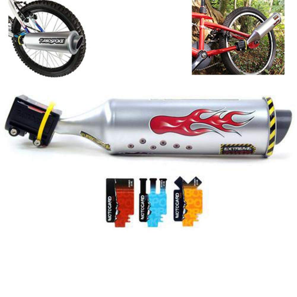 Gereton Turbospoke Bicycle Exhaust System Moto Sound Exhaust Six Kinds Of Moto Wild Sound Bikes Accessori