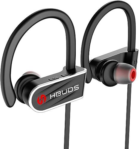 Bluetooth Earphones Wireless Headphones Sports Stereo Headset Gym for iphone Uk