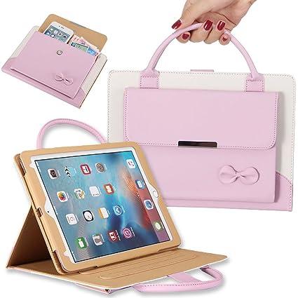 fcea6ad8514 Amazon.com  Wonzir Handbag iPad Case for New iPad 9.7(2017 2018 ...