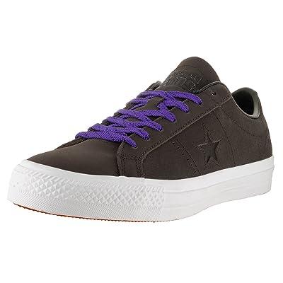 Converse One Star Pro Skate Shoes Hot Cocoa/Black/White Men's 10.5/Women's 12.5: Shoes
