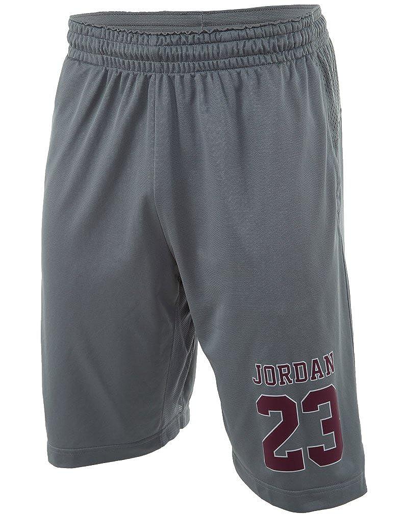 ジョーダンライズ4バスケットボールショーツ B018PQ2EX6 スチールグレー Medium