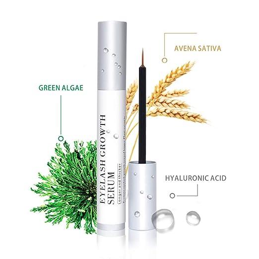 Jessia Eyelash Growth Serum,Natural Brow Lash Enhancer(5ML),Nourish Damaged  Lashes and