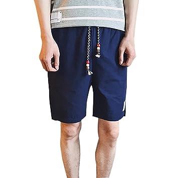 Amazon.com: Daxin Bañador para hombre, pantalones cortos ...