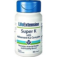 Life Extension Super K with Advanced K2 Complex Vitamine 90capsules