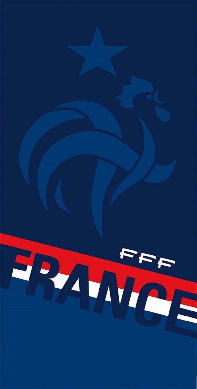PSG Serviette de bain Drap de plage coton Equipe de france les bleus ...