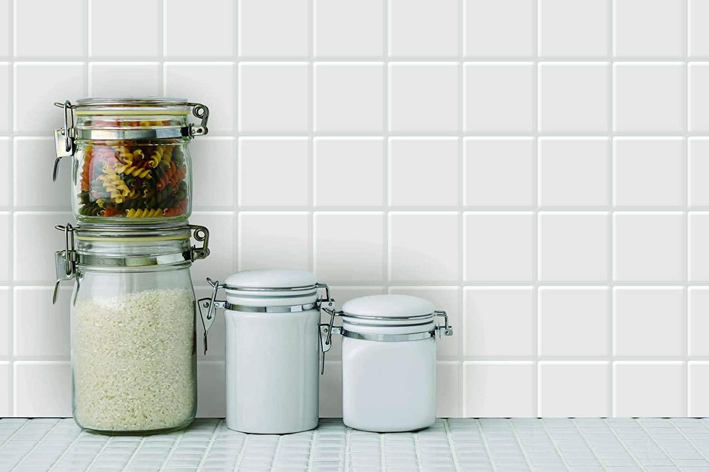 10 Sheets Marble Design Peel and Stick Tile Backsplash for Kitchen