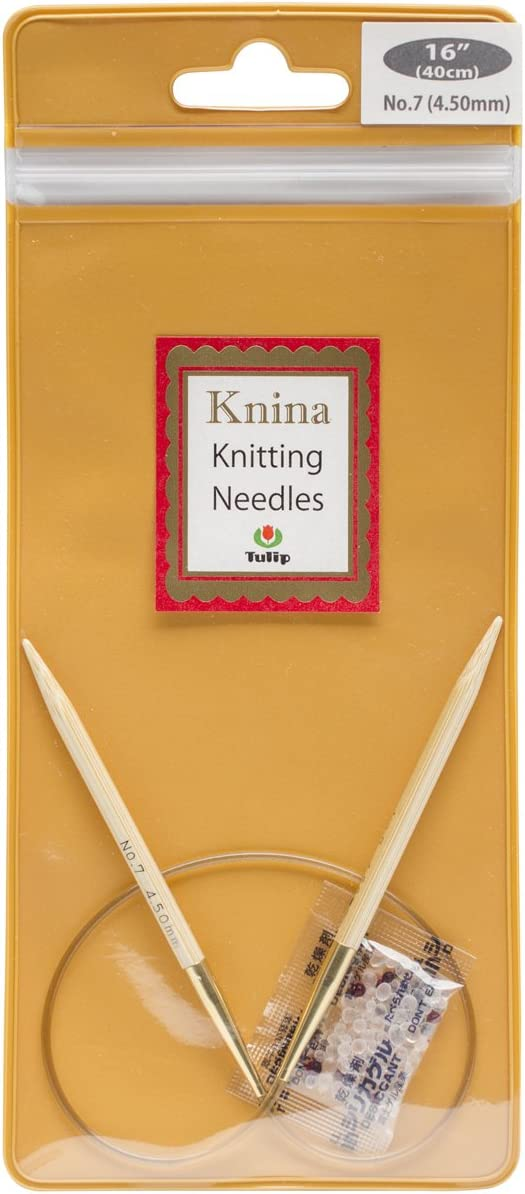 4 mm Tulip Knina Circular Knitting Needle 80 cm