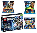 Lego Dimensions Starter Pack + Sonic The Hedgehog Level Pack + Gremlins Team Pack + E.T. Fun Pack for Xbox 360 Console