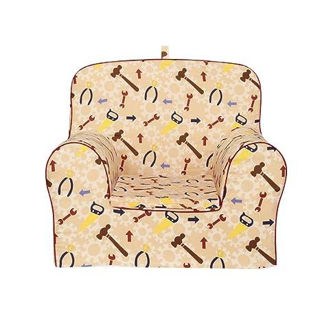 Amazon.com: YONGJUN Sofá infantil de 5 colores, silla de ...