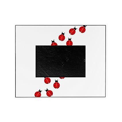 Amazon.com: CafePress - LADYBUG LINE - Decorative 8x10 Picture Frame ...