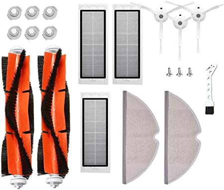 APLUSTECH Recambios para Roborock S50 S51 S55 S5 S6 - Accesorios para Xiaomi MI Mijia Robot Aspiradora - Cepillo Principal, Cepillo Lateral, Filtro HEPA y Mopa.: Amazon.es: Hogar