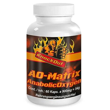 KO MATRIX: Estimulador de testosterona de los EE. UU. a base de NO2