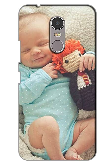 AMAN Baby with Doll 3D Back Cover for Lenovo K6 Note: Amazon