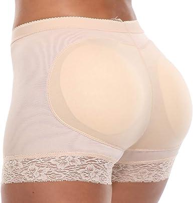 MISS MOLY Dentelle Culotte Push Up Fesse Gainante Invisible Panty Boby Shapewear Sculptante Monte Fesse Shapewear Ventre Plat Amincissante Sculptante Minceur Monte Fesse