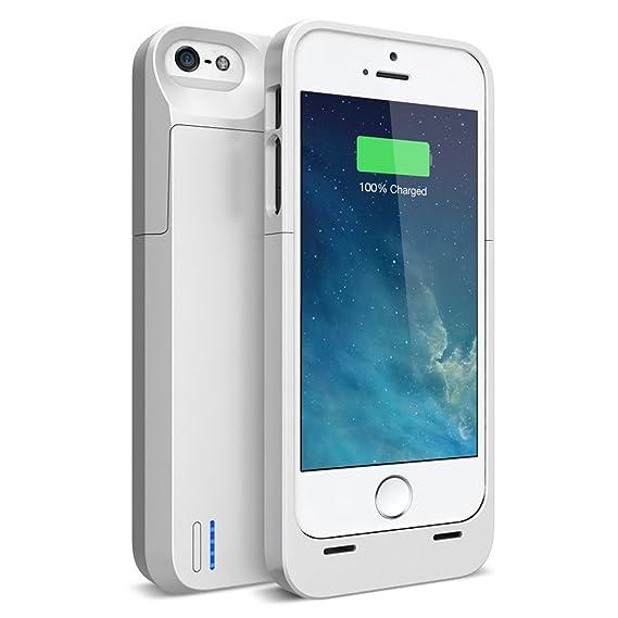 timeless design 7d9ed 58bac Amazon.com: iPhone SE Battery case , iPhone 5S Battery case , UNU DX ...