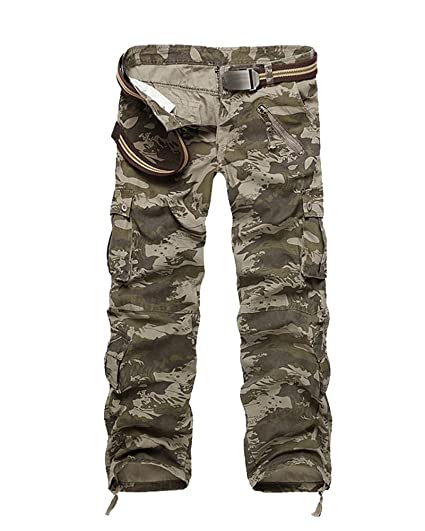 Travail Pantalon Style Cargo Avec Homme Multipoche Gladiolus De m80nwN