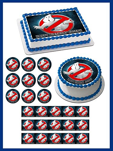 Ghostbusters (Nr4) - Edible Cupcake Toppers - 2