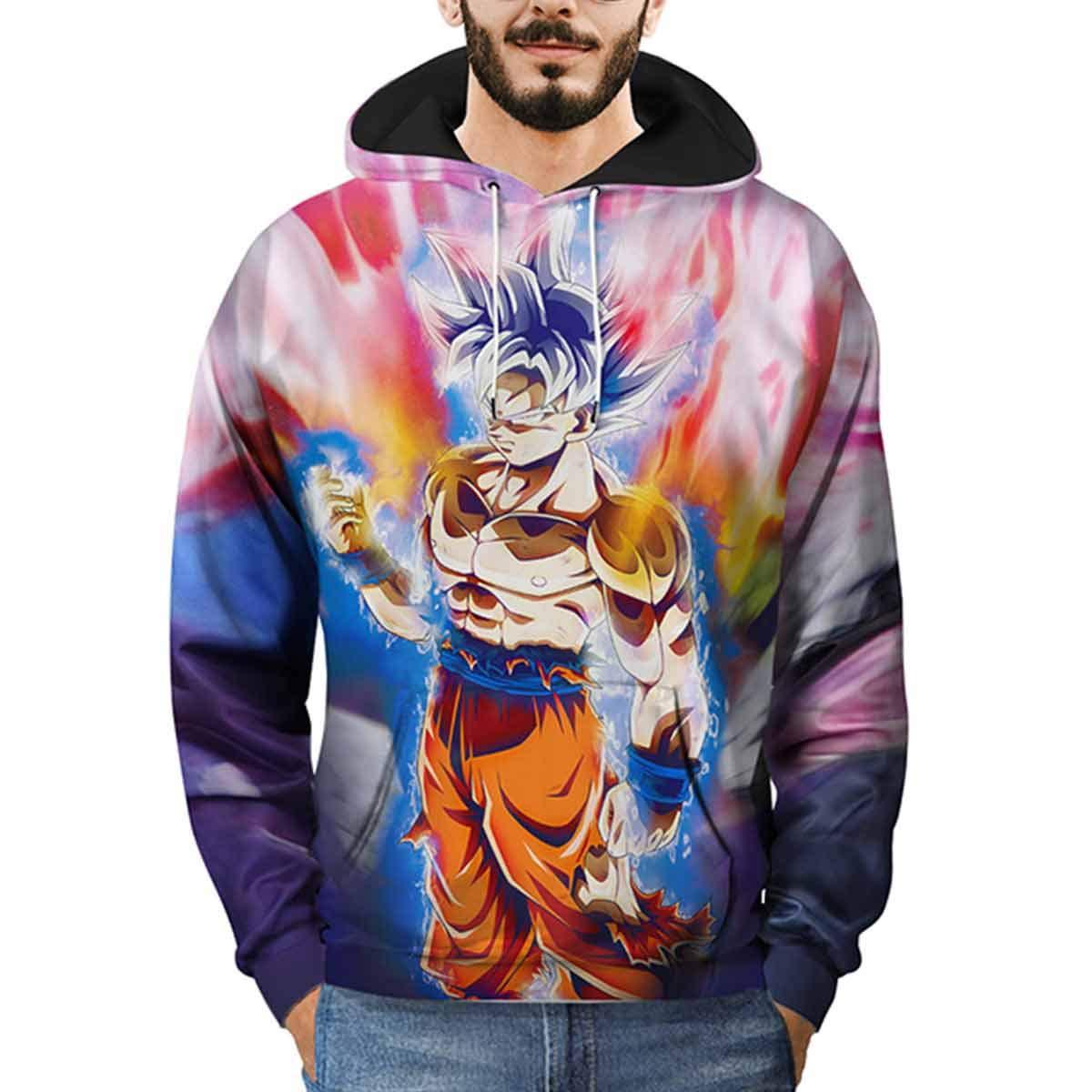 Dragon Ball Z Hooded Sweatshirt Mens Manga Larga Pullover Hoodie Streetwear: Amazon.es: Ropa y accesorios