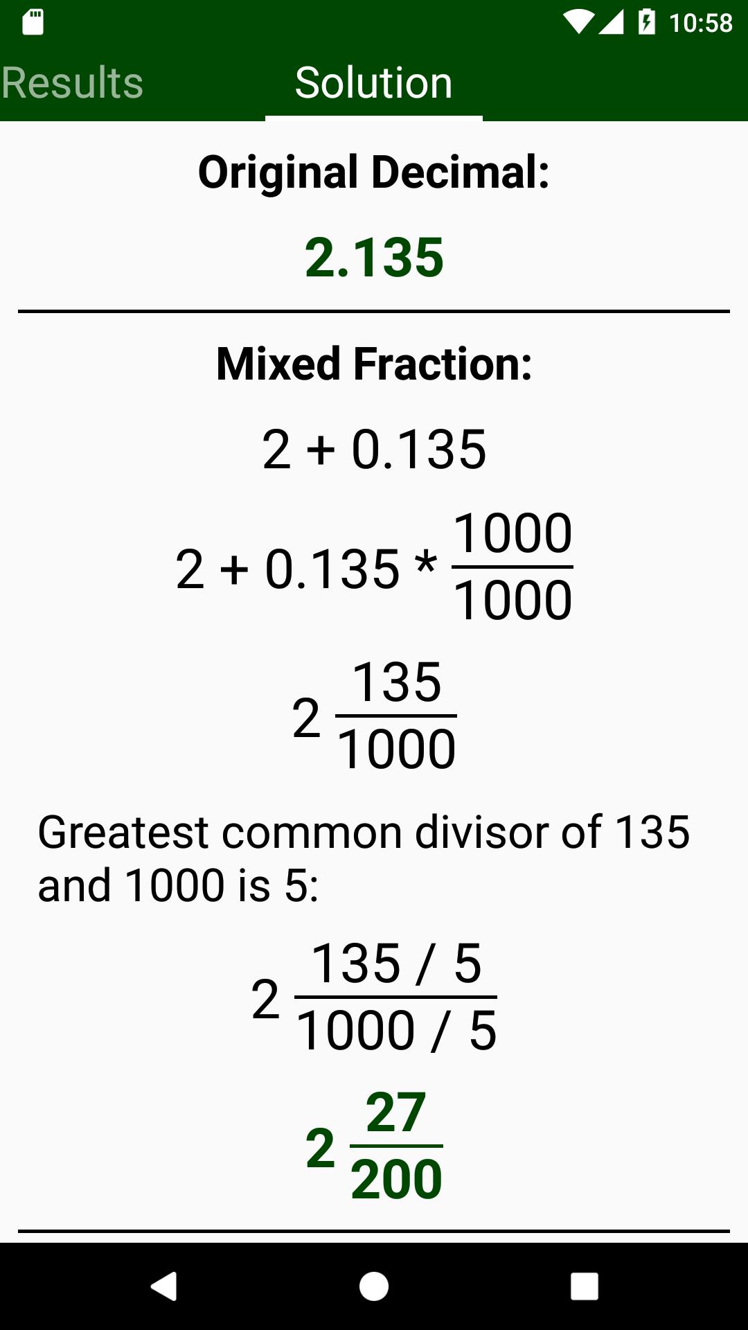 Fraction to decimal calculator betting line joelmir betting frases de amistad