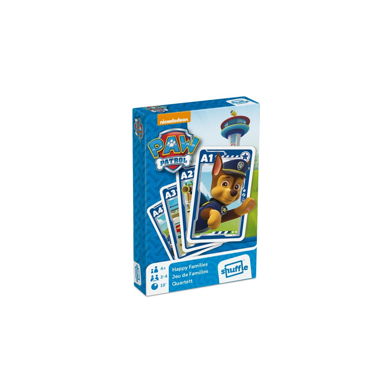 Ass Altenburger 22583134 - Paw Patrol - Quartett, Kartenspiel 108332924