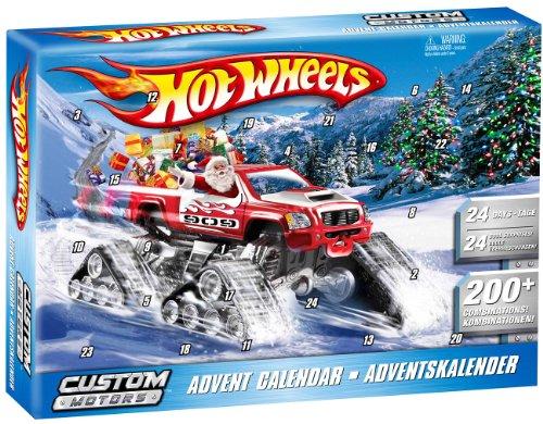 Weihnachtskalender Hot Wheels.Mattel V9298 Hot Wheels Custom Motors Hot Wheels Advent Calender