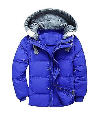 29d4c5472 Sweety, Big Boys Hooded Jacket Lightweight Warm Puffer Padded Green Winter  Coat,Blue 3T