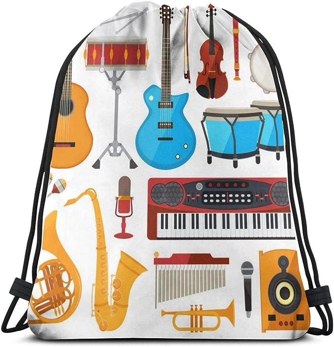 Bongo Drums Guitarra y Otros Instrumentos Musicales_429 Mochila ...