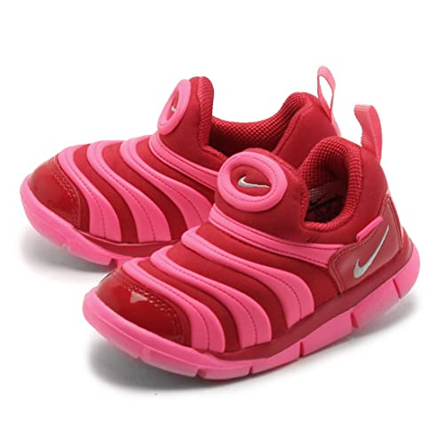 uk availability b249c 53d3a NIKE DYNAMO FREE (TD) Kid Baby Walking Shoes Sneakers 343938-608 RED