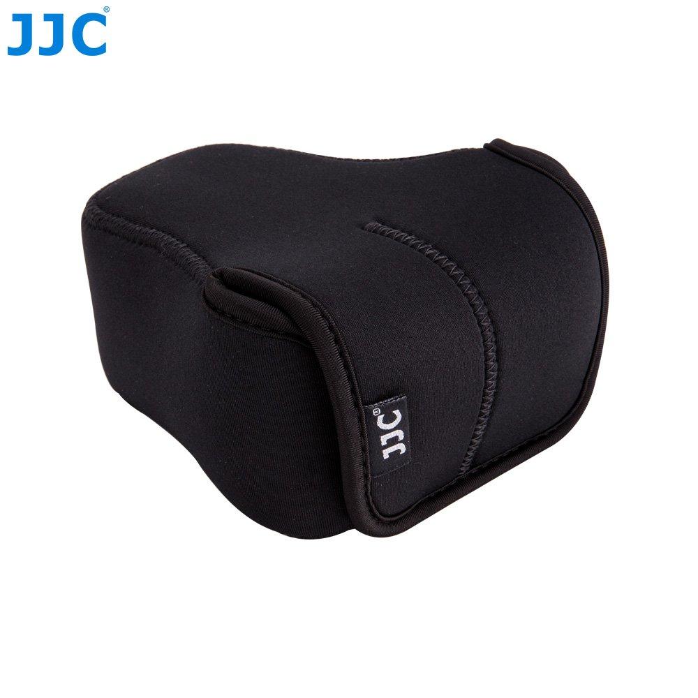 JJC OC-F2BK Custodio in Neoprene per Fotocamera Fujifilm Olympus con Obiettivo di Taglia Fino a 127 x 85 x 130mm