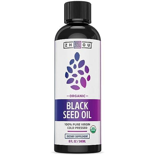 美国农业部认证的黑籽油,强大的抗氧化剂可增强免疫力,改善心血管,头发,肌肤健康
