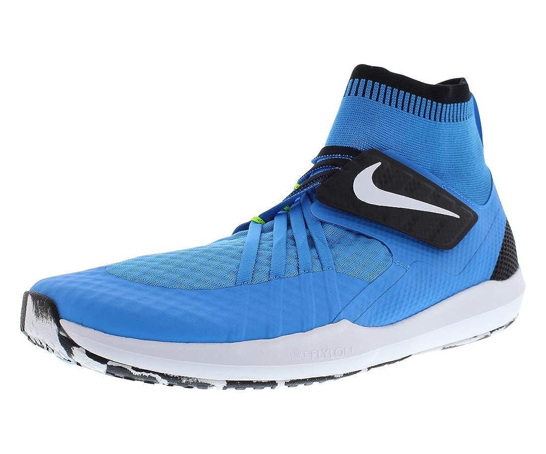 Nike 852926-400, Hauszapatos de Deporte para Hombre azul (azul Glow   blanco-negro-volt)