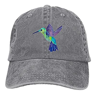 FBGVFD Hummingbird Baseball Caps Simple Comfortable Cowboy Hat For Men