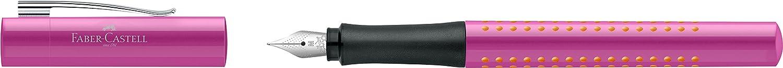 Faber-Castell 140901/penna stilografica Grip 2011 M nero