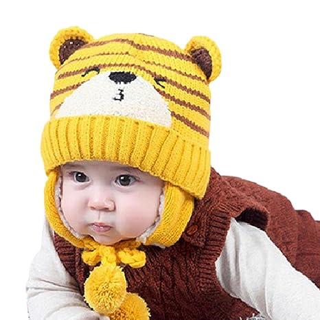 sombreros de invierno Baby Boys Girls Beanie Pocket Cotton Hat Niños Imprimir sombreros de tejer ropa