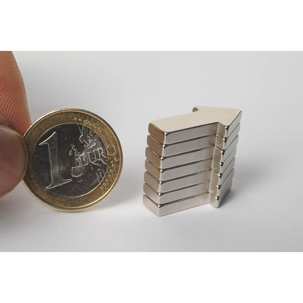 6 x 3 mm Il Originale MC000-20 magneti ultr/à potenti al neodimio HAB /& GUT