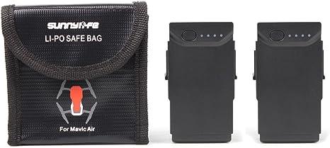 CZFRIEND Explosion-Proof Lipo Battery Safe Bag Lipo Battery Guard Pouch Sack Charge Protection Bag for DJI Mavic Mini 3pcs