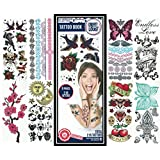 Temporary Tattoos ? 216 Color Temporary Tattoo Designs ? Traditional, Boho, Mandala Designs ? 9 Full Color Sheets ? Bracelets, Wrist, and Arm Wraps ? Removable High Resolution Tattoo Designs