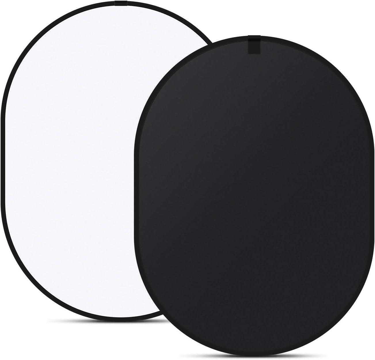 Questo telo è bianco su un lato e nero sull'altro