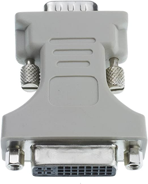 DVI-A Female to HD15 Male 20 Pack GOWOS DVI-A to VGA Analog Video Adapter