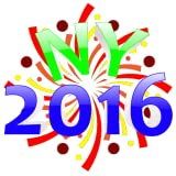New Year Fireworks Wallpaper 2016