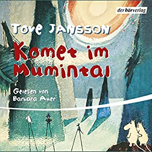 Komet im Mumintal Audiobook