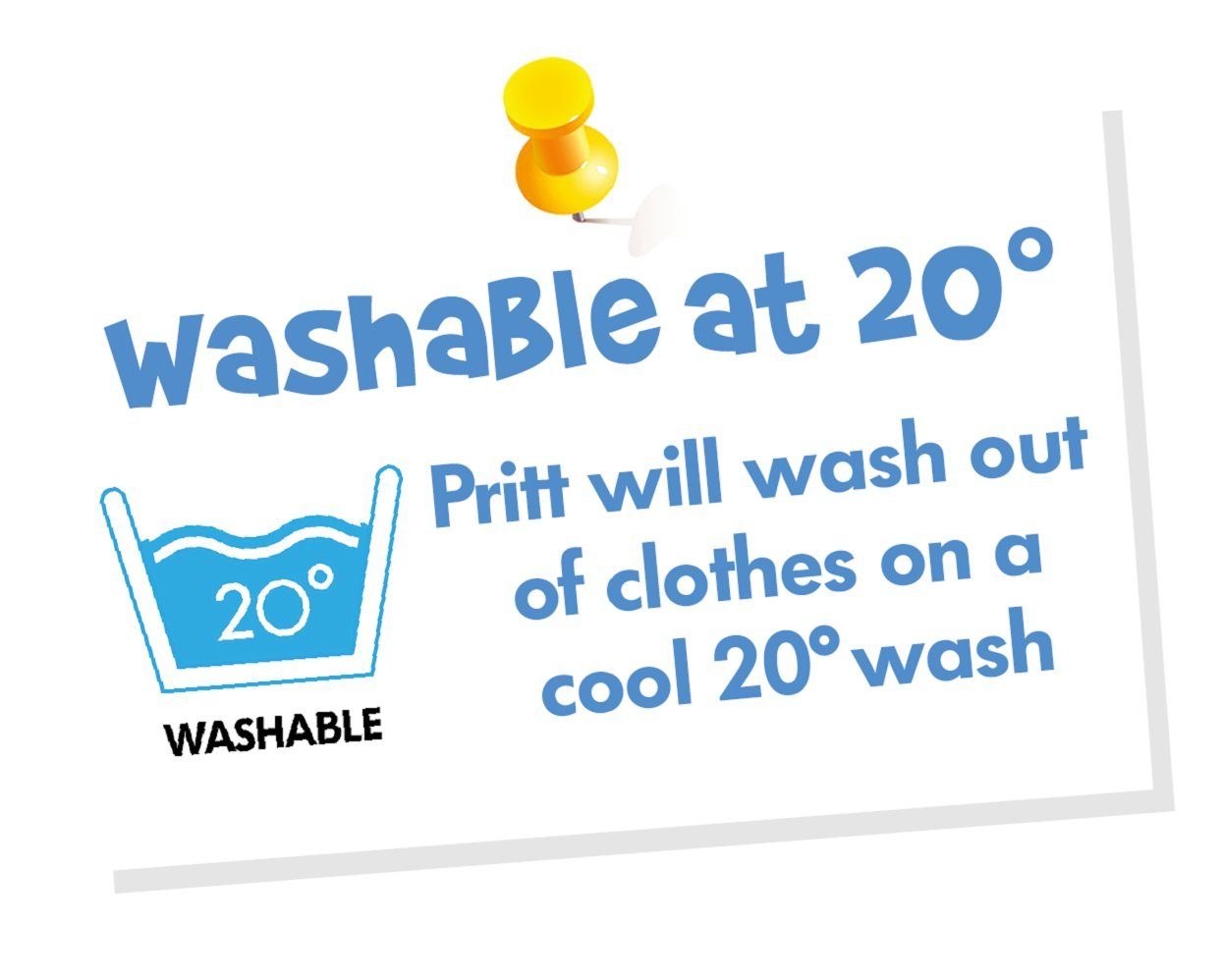 Amazon.com: Pritt Stick Glue Solid Washable Non-Toxic Standard 11G ...