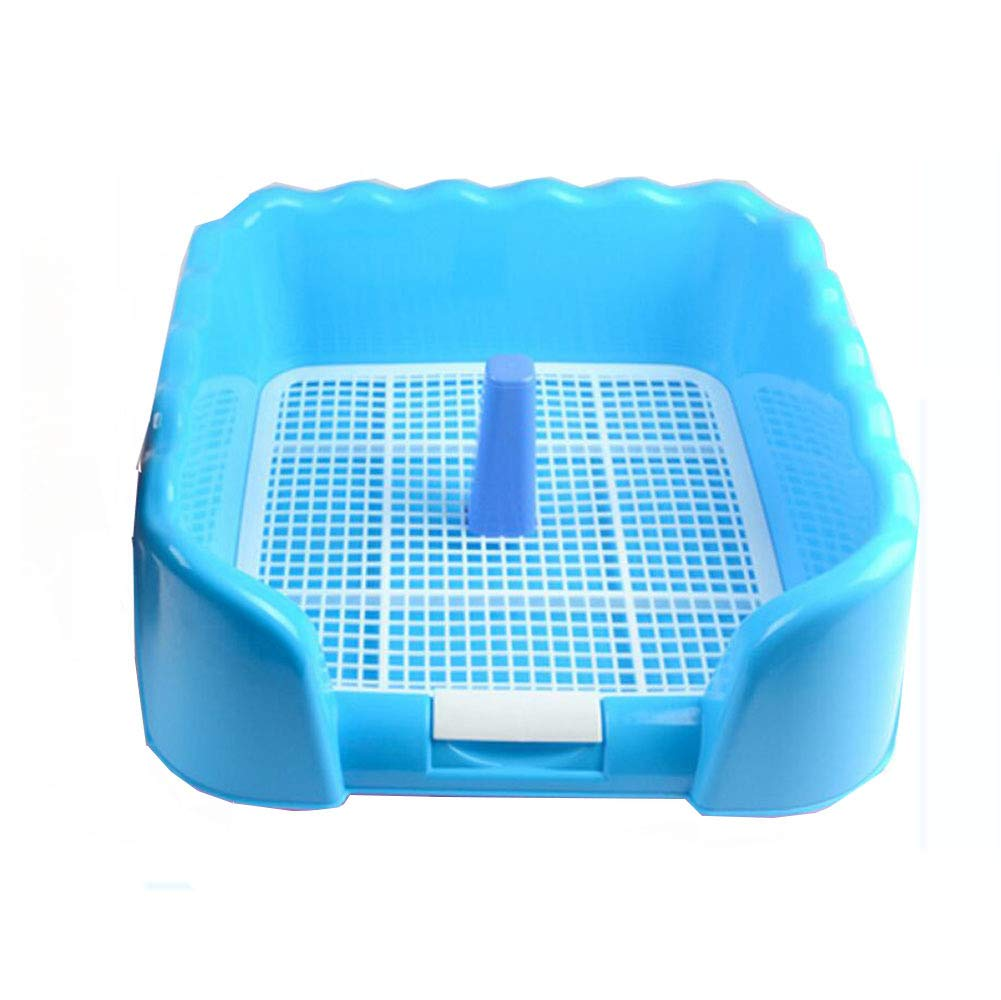 bluee Self-cleaning Litter Box Dog Upright Toilet Toilet Fence Pet Toilet,bluee