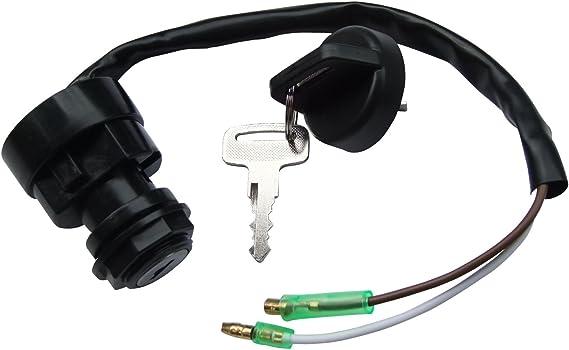 Ignition Key Switch for Kawasaki KLF400 Bayou 400 4X4 1993-1999 B6 B5 KLF 400
