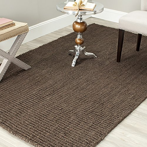 Safavieh Natural Fiber Collection NF447D Hand Woven Brown Jute Area Rug (5' x 8') by Safavieh