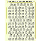 The PRACTICAL BANJO CHORD and FRETBOARD CHART