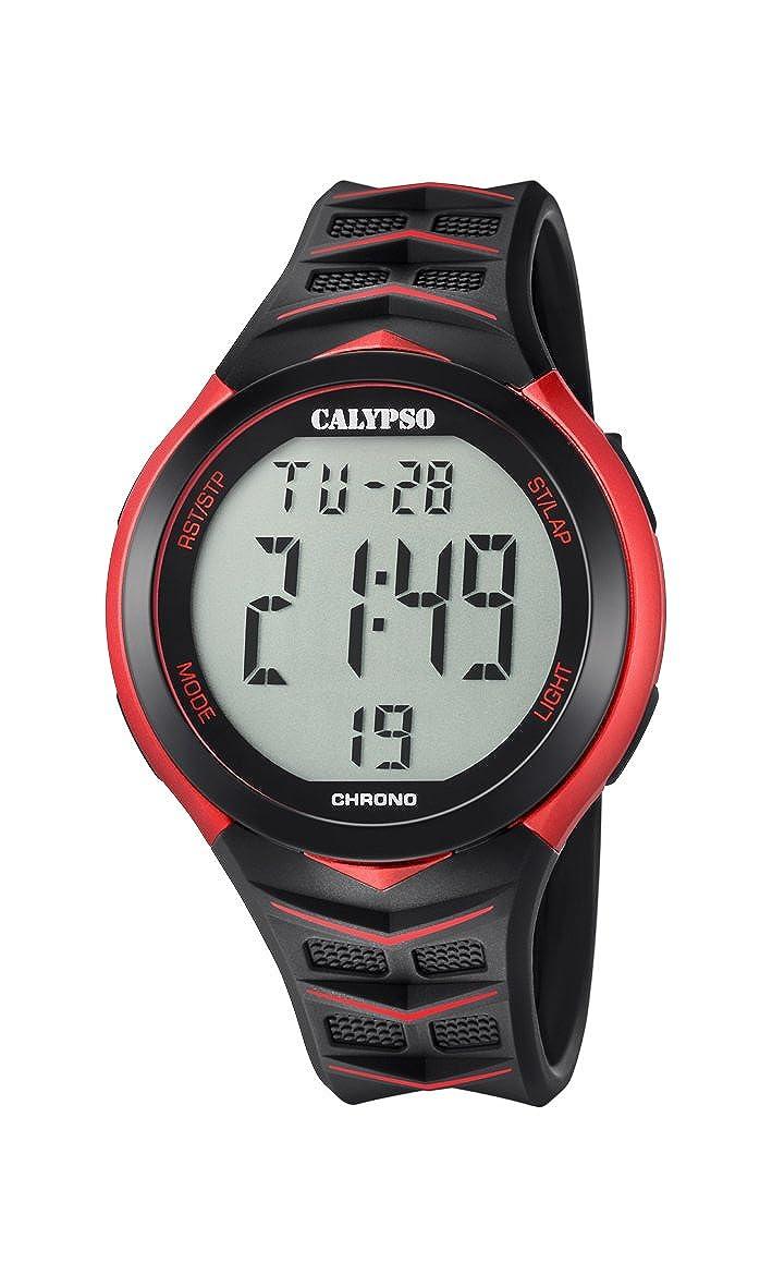 Calypso Reloj Digital para Hombre de Cuarzo con Correa en Plástico K5730/3