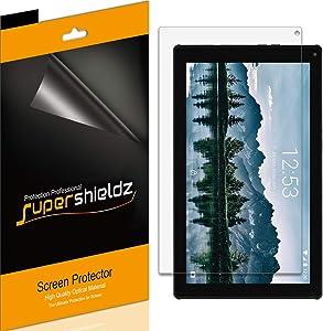 (3 Pack) Supershieldz for Ematic 10.1 inch Quad Core Tablet (EGQ235SK) Screen Protector, Anti Glare and Anti Fingerprint (Matte) Shield